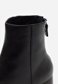 sandro - Classic ankle boots - noir - 4