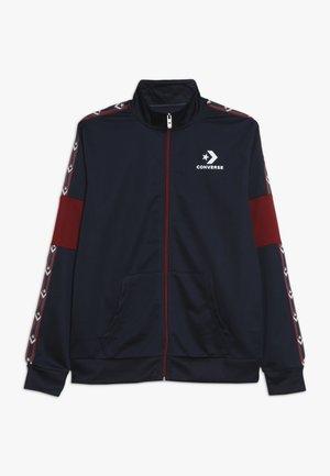 STAR CHEVRON COLORBLOCK TRACK JACKET - Training jacket - obsidian