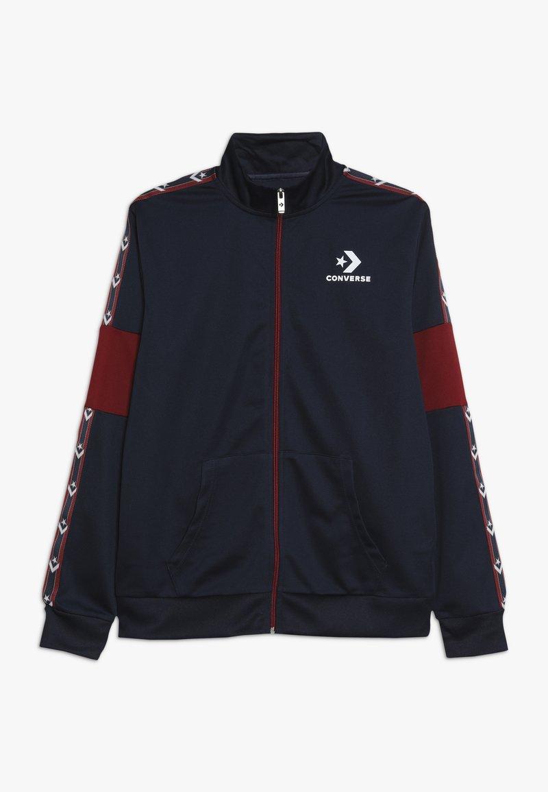 Converse - STAR CHEVRON COLORBLOCK TRACK JACKET - Training jacket - obsidian