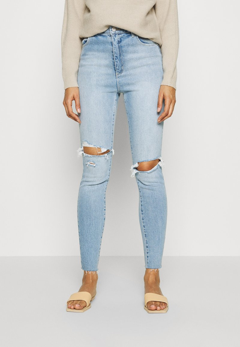Abrand Jeans - A HIGH ANKLE BASHER - Jeans Skinny Fit - lonestar