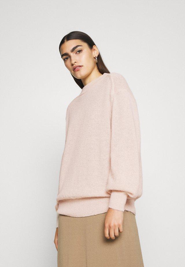 WOMEN´S - Stickad tröja - rose quartz