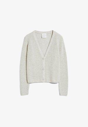 ADRIAANE - Cardigan - light grey melange