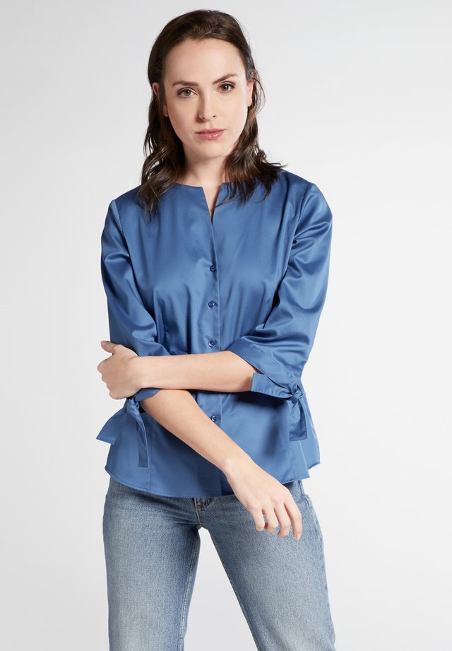 Blouse - blue