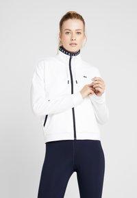 Lacoste Sport - TENNIS JACKET - Veste de survêtement - white/navy blue - 0