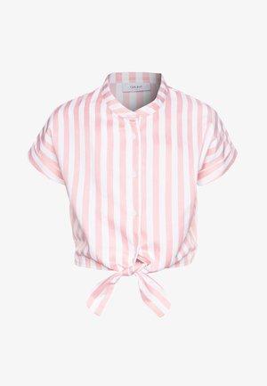 AROS  - Print T-shirt - coral/white