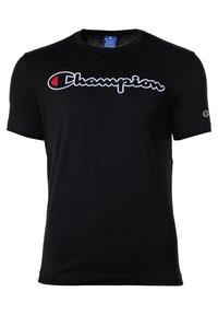 Champion Rochester - CREW NECK, RUNDHALS, COTTON  - Print T-shirt - schwarz - 0