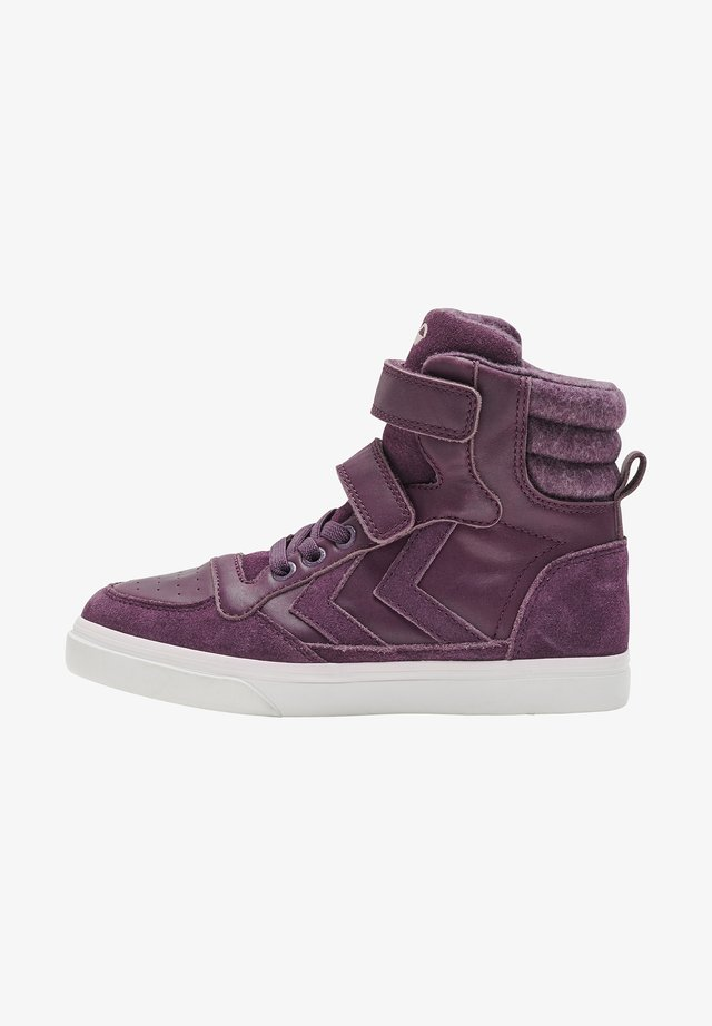 STADIL WINTER JR - High-top trainers - blackberry wine