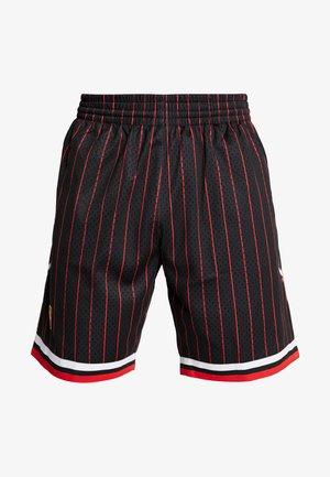 NBA SWINGMAN SHORTS CHICAGO BULLS - Sports shorts - black pinstripe