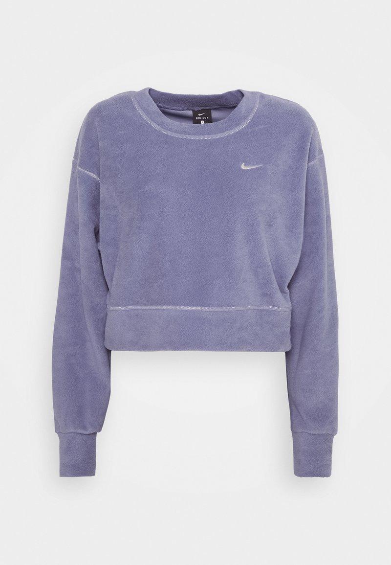 Nike Performance - Fleece jumper - world indigo/metallic silver