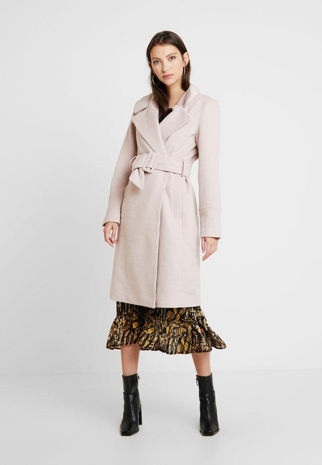 BELLA WRAP COAT - Mantel - soft pink