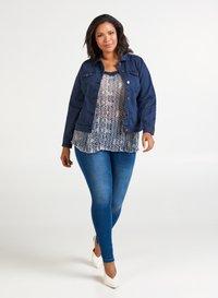 Zizzi - Denim jacket - dark blue - 1