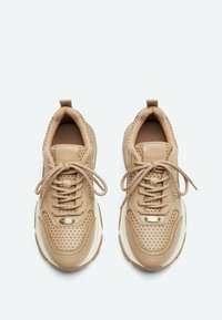 Uterqüe - Sneakers laag - camel - 3
