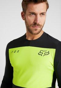Fox Racing - DEFEND DELTA LUNAR - Sports shirt - day glow yellow - 3