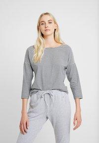 Short Stories - Pyjamapaita - black/white - 0