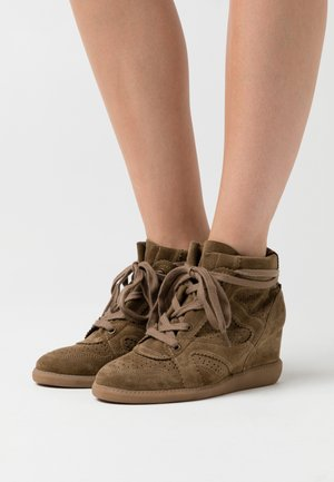 VIBE - Ankle boots - khaki