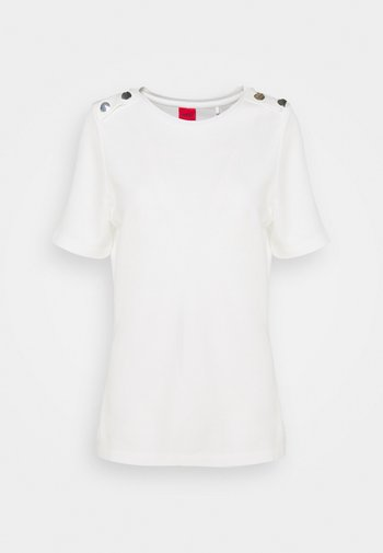 DELCI - Print T-shirt - natural
