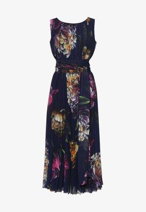 Długa sukienka - fiolet