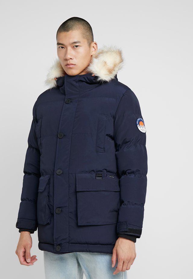 TRIM MOUNTAIN - Winter coat - navy