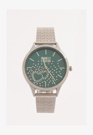 CRYSTAL - Horloge - silver verde