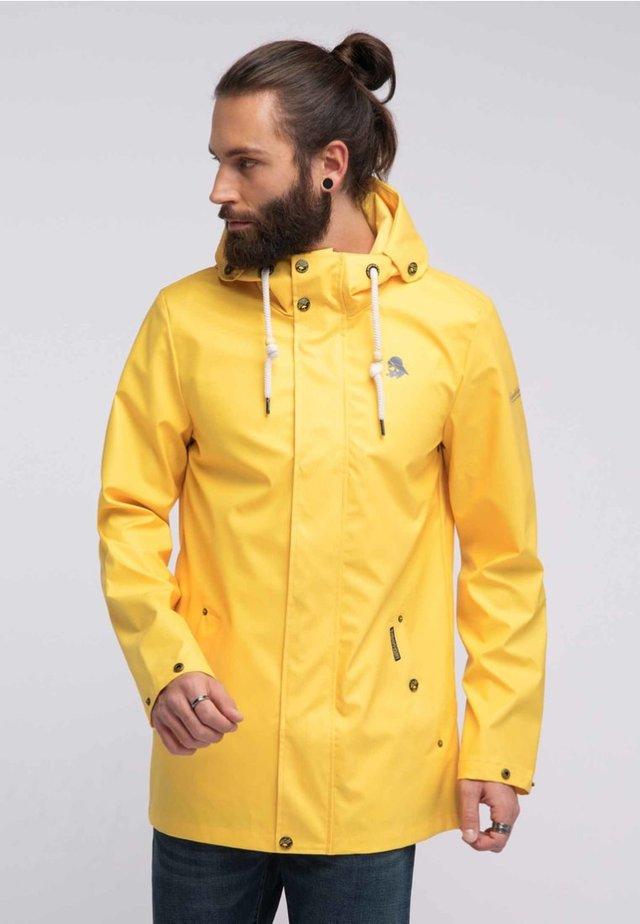 Parkas - yellow