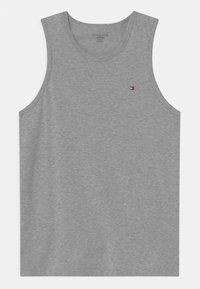 Tommy Hilfiger - 2 PACK - Undershirt - white/medium grey heather - 2