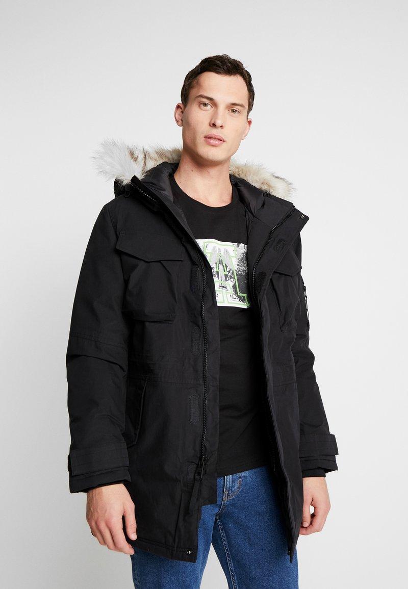 Timberland - NORDIC EDGE EXPEDITION - Zimní kabát - black
