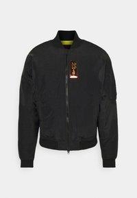 Bomber Jacket - black/university gold