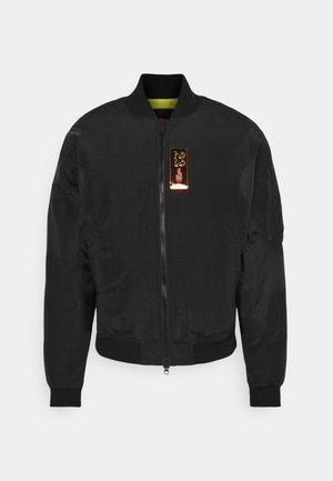 Bomber bunda - black/university gold