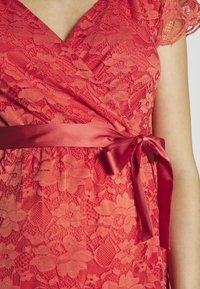 Esprit Maternity - DRESS - Cocktail dress / Party dress - coral - 4