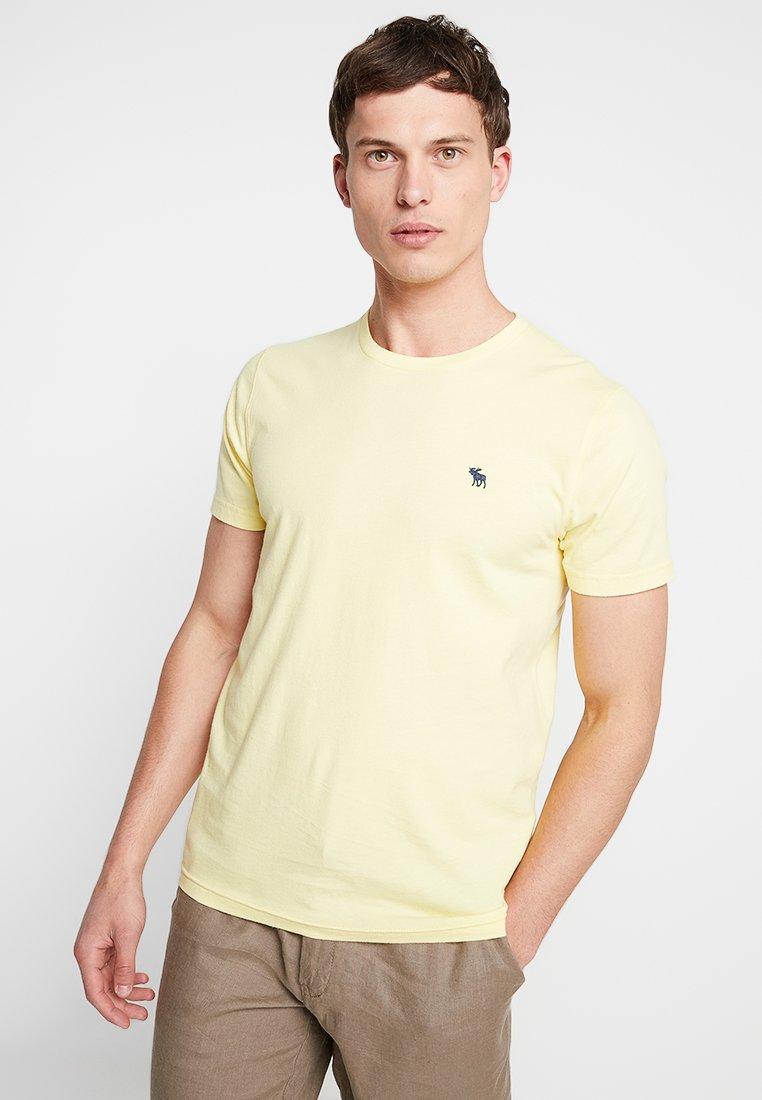 Abercrombie & Fitch - POP ICON CREW - T-shirt basic - popcorn with mood indigo