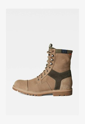TENDRIC II - Lace-up ankle boots - khaki