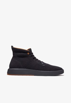 TRUECLOUD EK + KNIT CHUKKA - Sneakersy wysokie - black