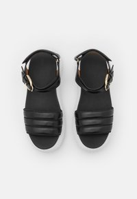 Emporio Armani - Platform sandals - black - 4
