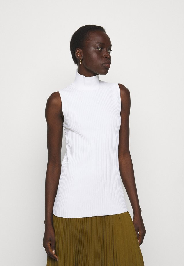 SLEEVELESS TURTLENECK - Top - off white