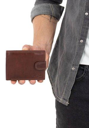 GUSTAV - Wallet - dark brown