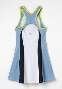 Head - FIONA DRESS  - Sports dress - white/yellow - 1