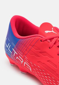 Puma - ULTRA 4.3 FG/AG JR UNISEX - Moulded stud football boots - sunblaze/white/bluemazing - 5
