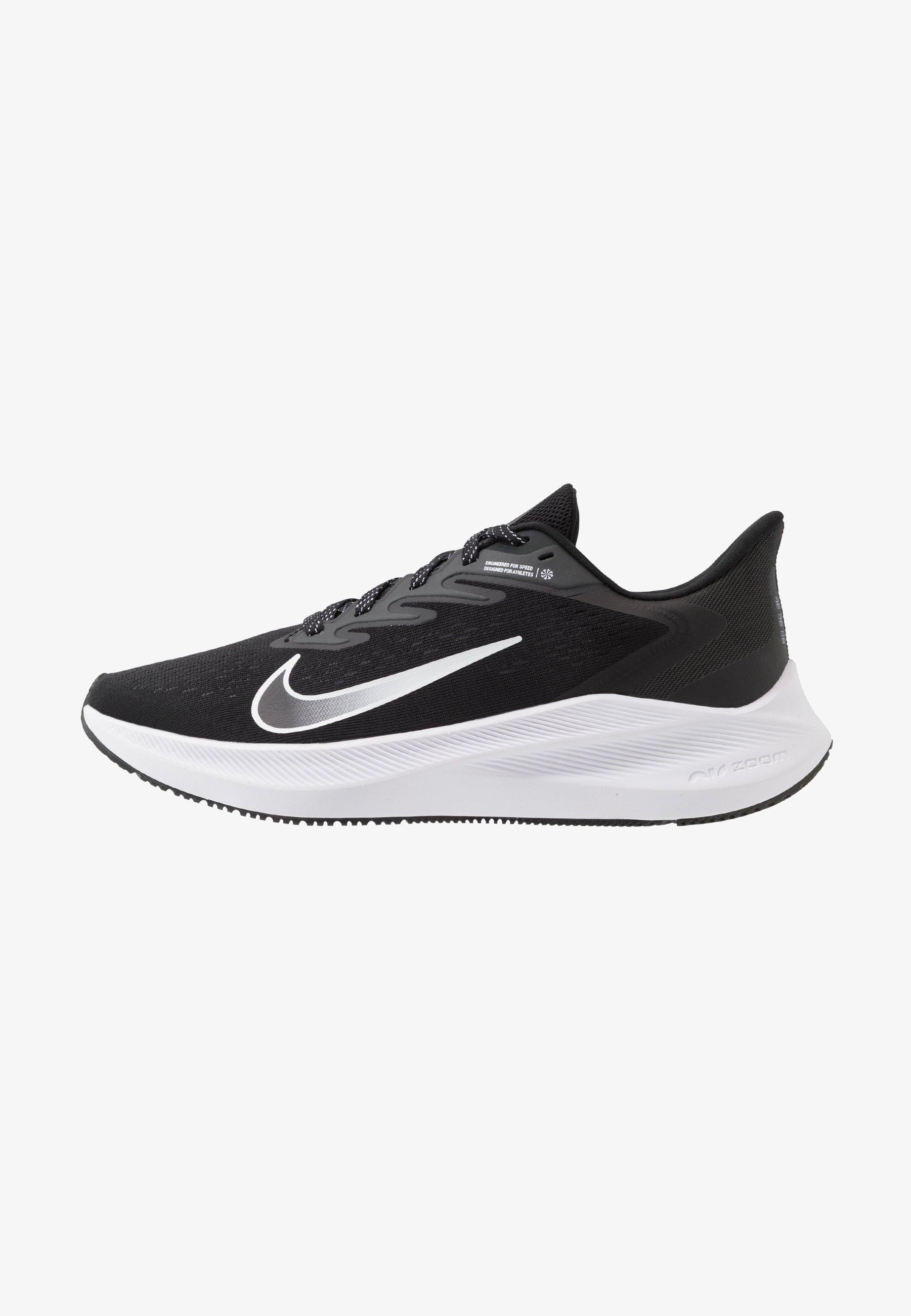 retirarse represa atómico  Nike Performance ZOOM WINFLO - Zapatillas de running neutras -  black/white/anthracite/negro - Zalando.es
