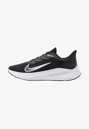 ZOOM WINFLO  - Neutral running shoes - black/white/anthracite