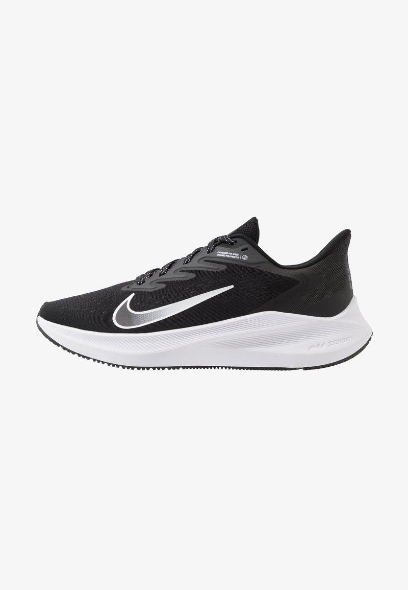Nike Performance - ZOOM WINFLO  - Obuwie do biegania treningowe - black/white/anthracite