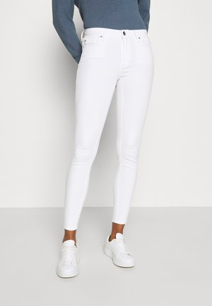 ONLSHAPE LIFE STAY - Jeansy Skinny Fit - white