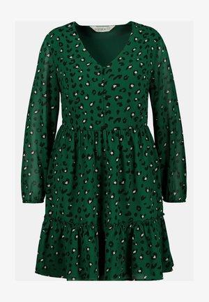 STUDIO UNTOLD DAMEN GROSSE GRÖSSEN MINI - Day dress - dunkel-smaragd