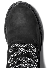 Timberland - CONVENIENCE LACE BOOT - Lace-up ankle boots - black nubuck - 4