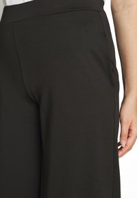 Simply Be - SCUBA TROUSERS - Trousers - black - 4