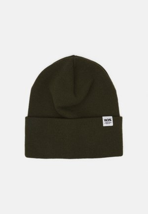 GERALD TALL BEANIE UNISEX - Berretto - dark green