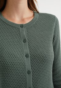 WE Fashion - Cardigan - olive green - 3