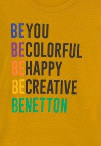 Benetton - BASIC GIRL - Longsleeve - yellow - 2