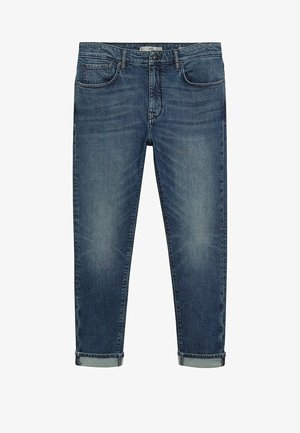 TOM TAPERED FIT - Relaxed fit jeans - dunkelblau vintage