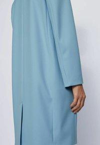 BOSS - Classic coat - light blue - 5