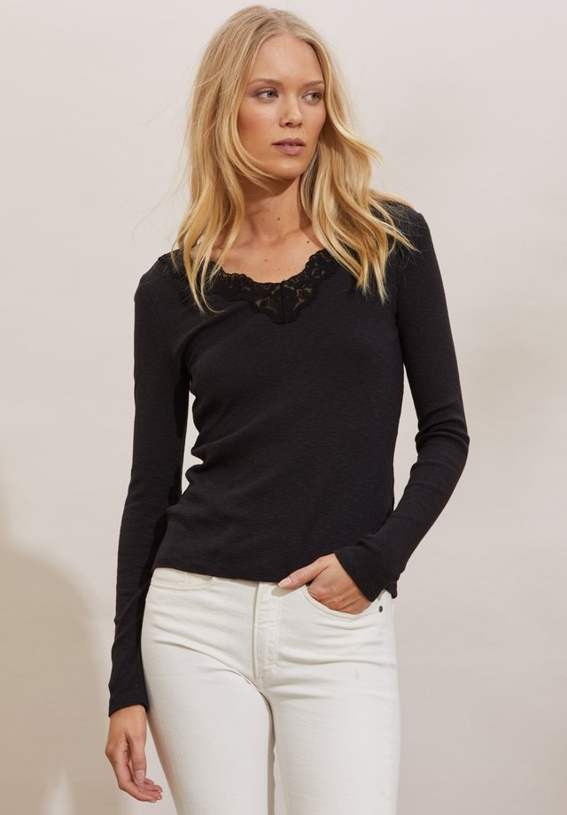 NINA - Maglione - almost black